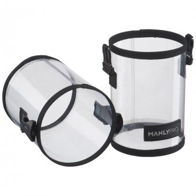 Прозрачный тубус для кистей Manly Pro КП34: фото
