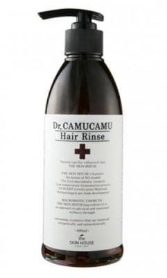 Бальзам лечебный для волос THE SKIN HOUSE Dr.camucamu hair rinse 400 мл: фото