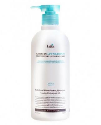 Шампунь для волос с аминокислотами LA'DOR Keratin LPP shampoo 530 мл: фото