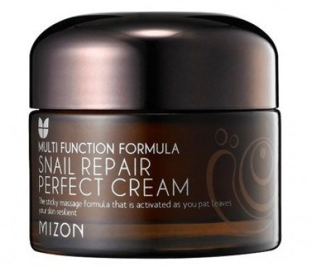 Крем с экстрактом улитки восстанавливающий MIZON Snail repair perfect cream 50мл: фото