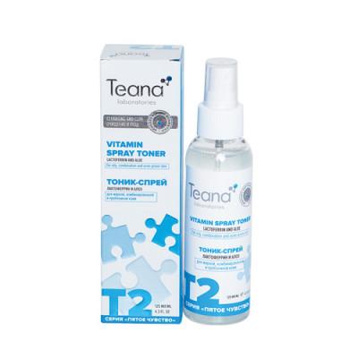 Тоник-спрей матирующий с лактоферрином TEANA 125мл: фото