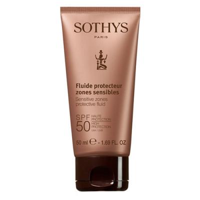Флюид для лица и чувствительных зон тела SPF50 SOTHYS 50мл: фото