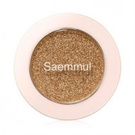 Тени для век с глиттером THE SAEM Saemmul Single Shadow Glitter YE02 1,6гр: фото