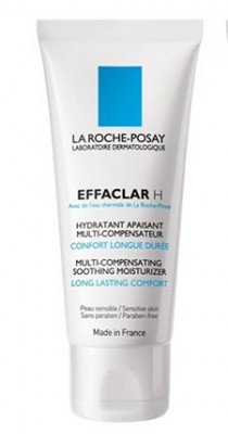 Крем мультивосстанавливающий увлажняющий успокаивающий La Roche-Posay Effaclar 40мл: фото
