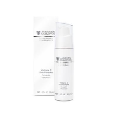 Концентрат регенерирующий с витамином С Janssen Cosmetics Vitaforce C Skin Complex 30мл: фото