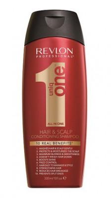 Шампунь кондиционирующий для волос Revlon Professional UNIQONE CONDITIONING SHAMPOO 300мл: фото