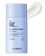 Крем-гель солнцезащитный SPF50 THE SAEM Eco Earth Power Aqua Sun Gel 60г: фото