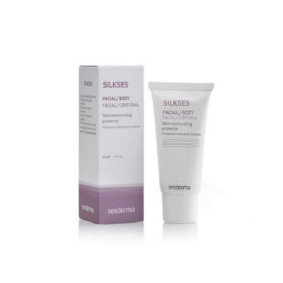 Крем-протектор для всех типов кожи увлажняющий Sesderma SILKSES 30 мл: фото