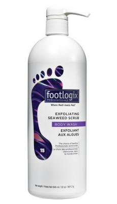 Скраб с морскими водорослями для ног Footlogix Exfoliating Seaweed Scrub 946мл: фото