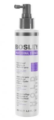 Спрей неаэрозольный для фиксации кератиновых волокон Bosley Non-Aerosol Hairspray & FiberHald Spray 200мл: фото
