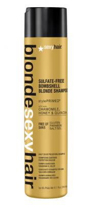Шампунь для сохранения цвета блонд SEXY HAIR Bombshell Blonde Shampoo 300мл: фото