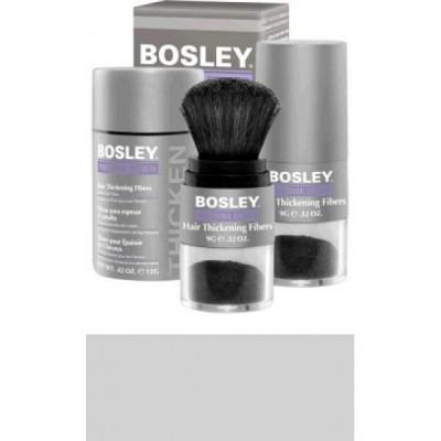 Кератиновые волокна BOSLEY Hair Thickening Fibers седой 12г: фото
