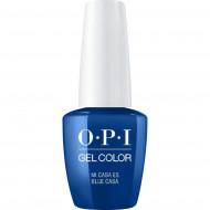 Гель для ногтей OPI GelColor Mi Casa Es Blue Casa GCM92 15 мл: фото