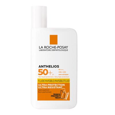Флюид невидимый для лица и кожи вокруг глаз La Roche-Posay Anthelios SPF50+ 50мл: фото