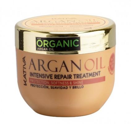 Увлажняющая маска для волос с маслом Арганы Kativa ARGAN OIL 500мл: фото