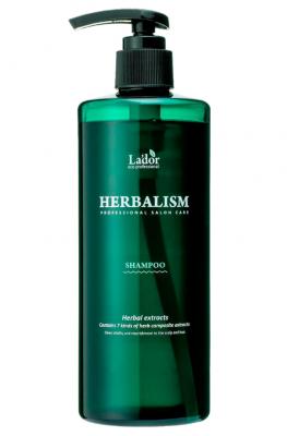 Успокаивающий шампунь против выпадения волос HERBALISM SHAMPOO 400мл: фото