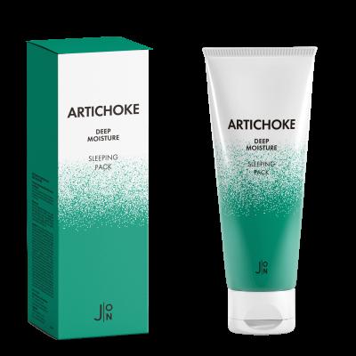 Маска для лица АРТИШОК J:ON Artichoke Deep Moisture Sleeping Pack 50г: фото