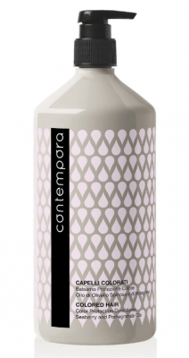 Кондиционер для сохранения цвета с маслом облепихи и маслом граната Barex Contempora Color Protection Conditioner Seaberry and Pomegranate Oils 1000мл: фото
