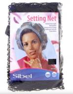 Сеточка-косынка для бигуди крупная Sibel коричневая: фото