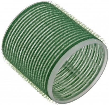 Бигуди на липучке Sibel 61мм зеленые 6шт: фото