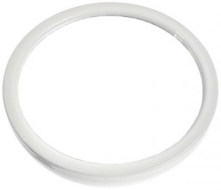 Зеркало парикмахерское круглое Sibel 22см белое: фото