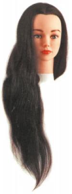 """Голова учебная """"шатенка"""" Sibel JENNY (натуральные волосы, 55-60см): фото"""