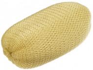 Подкладка для вечерних причёсок 13см Sibel желтая: фото