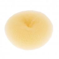 Подкладка-кольцо для причесок средняя Harizma Professional 11,5см блонд: фото
