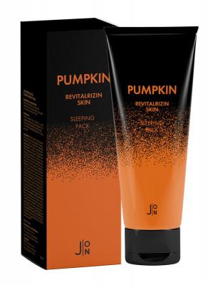 Маска для лица ТЫКВА J:ON Pumpkin Revitalizing Skin Sleeping Pack 50 мл: фото