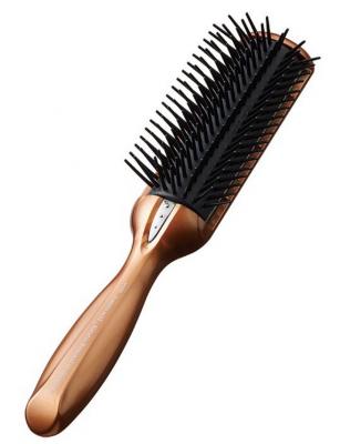 Щетка массажная с кератином и антистатическим эффектом большая Vess Anti-static hair brush Big: фото
