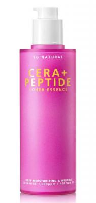 Тонер-эссенция с керамидами и пептидами So'Natural Cera plus peptide toner essence 120мл: фото