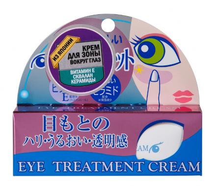 Крем для вокруг глаз с витамином Е и церамидами ROLAND Eye Treatment Cream 20г: фото