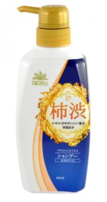Шампунь-кондиционер для волос с экстрактом хурмы MAX Taiyounosachi ex shampoo 400мл: фото