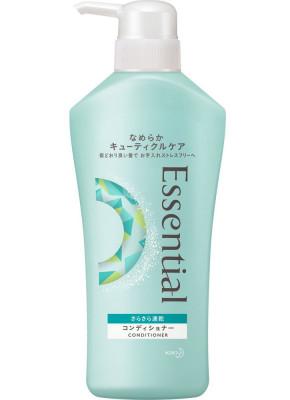 Кондиционер для защиты волос при сушке феном KAO Essential smart blow dry 480мл: фото
