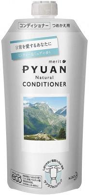 Кондиционер для волос с ароматом мяты и ландыша KAO Merit pyuan minty & muguet 340мл: фото