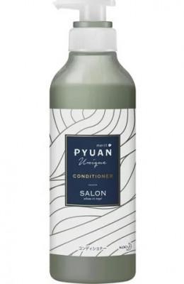 Кондиционер для волос с ароматом лилии и мыла KAO Merit pyuan unique 425мл: фото