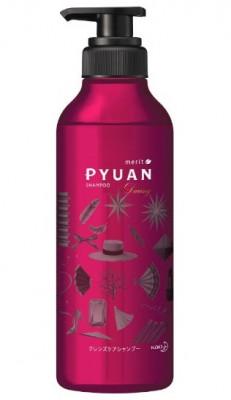 Шампунь для волос с ароматом розы и граната KAO Merit pyuan daring 425мл: фото