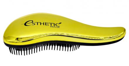 Расчёска для волос золотая Esthetic House Hair brush for easy comb gold: фото