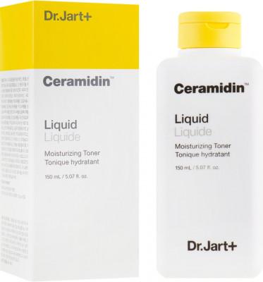 Тонер для лица с керамидами Dr.Jart+ Ceramidin liquid moisturizing toner 150мл: фото