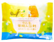 Соль-таблетка для ванн расслабляющая с ароматом мёда и лимона Charley Sommelier 40г: фото