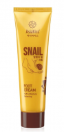 Крем для ног с муцином улитки AsiaKiss Snail foot cream 100мл: фото